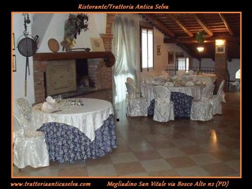 Ristorante Trattoria Antica Selva tag-alt-cerimonie-Montagnana-Matrimoni